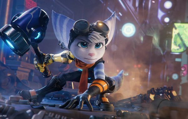 Ratchet and Clank A Rift Apart Female Lombax PlayStation 2021